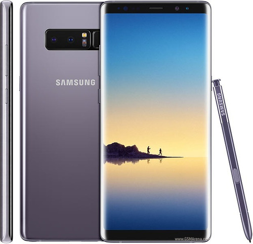 samsung galaxy note 8 4g 6.3' dual cam 64gb 6gb ram iris id