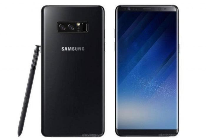 Note Samsung Plata Galaxy 8