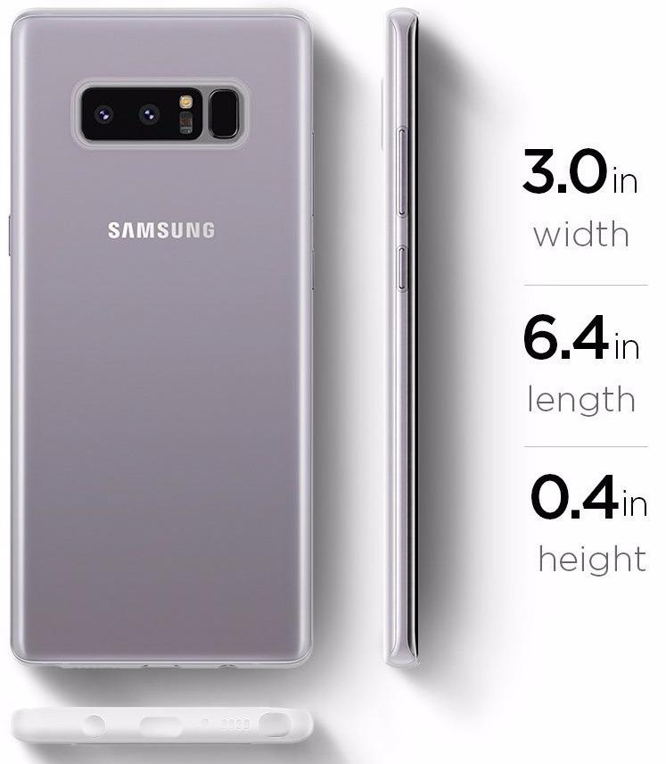 detailed look 35243 24c96 Samsung Galaxy Note 8 Spigen Air Skin Carcasa Protector