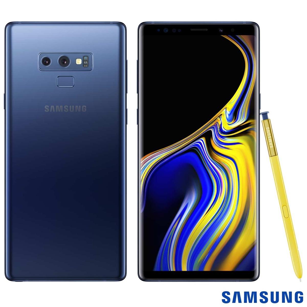 312c345cf Samsung Galaxy Note 9 Azul Tela De 6