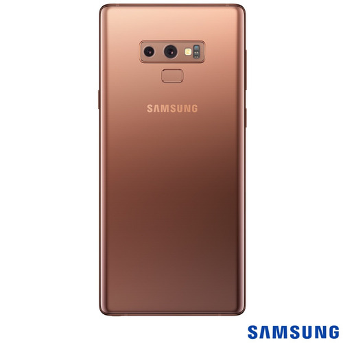 samsung galaxy note 9 cobre, tela de 6,4, 4g, 512gb 8gb ram