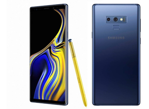 samsung galaxy note 9 duos 128gb libre| azul, negro, purple