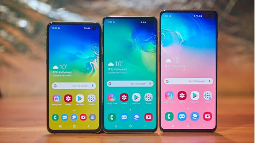 samsung galaxy s10 e $765 / s10 normal $ 920 / plus $990