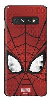samsung galaxy s10+ marvel cover spider man