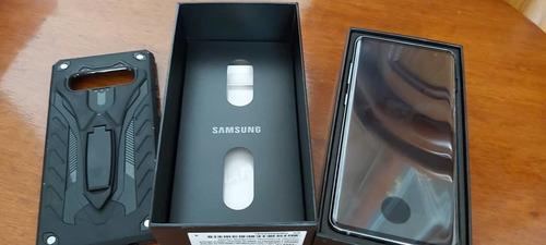 samsung galaxy s10 plus sm-g975f/ds. blanco. en 680 dolores.
