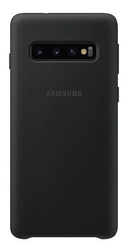 samsung galaxy s10+ silicone cover, black