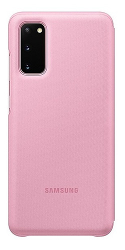 samsung galaxy s20 smart led view cover rosa