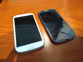 Samsung Galaxy S3 Colores Azul Y Blanco