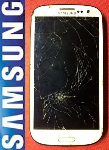 samsung galaxy s3 gt-i9300 4.8'' smartphone celular, defeito