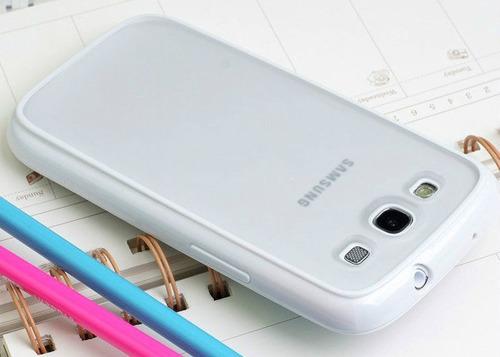 samsung galaxy s3 i9300 bumper plastico excelente calidad