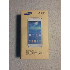 Samsung Galaxy S3 Slim Duos (sm-g3812b)