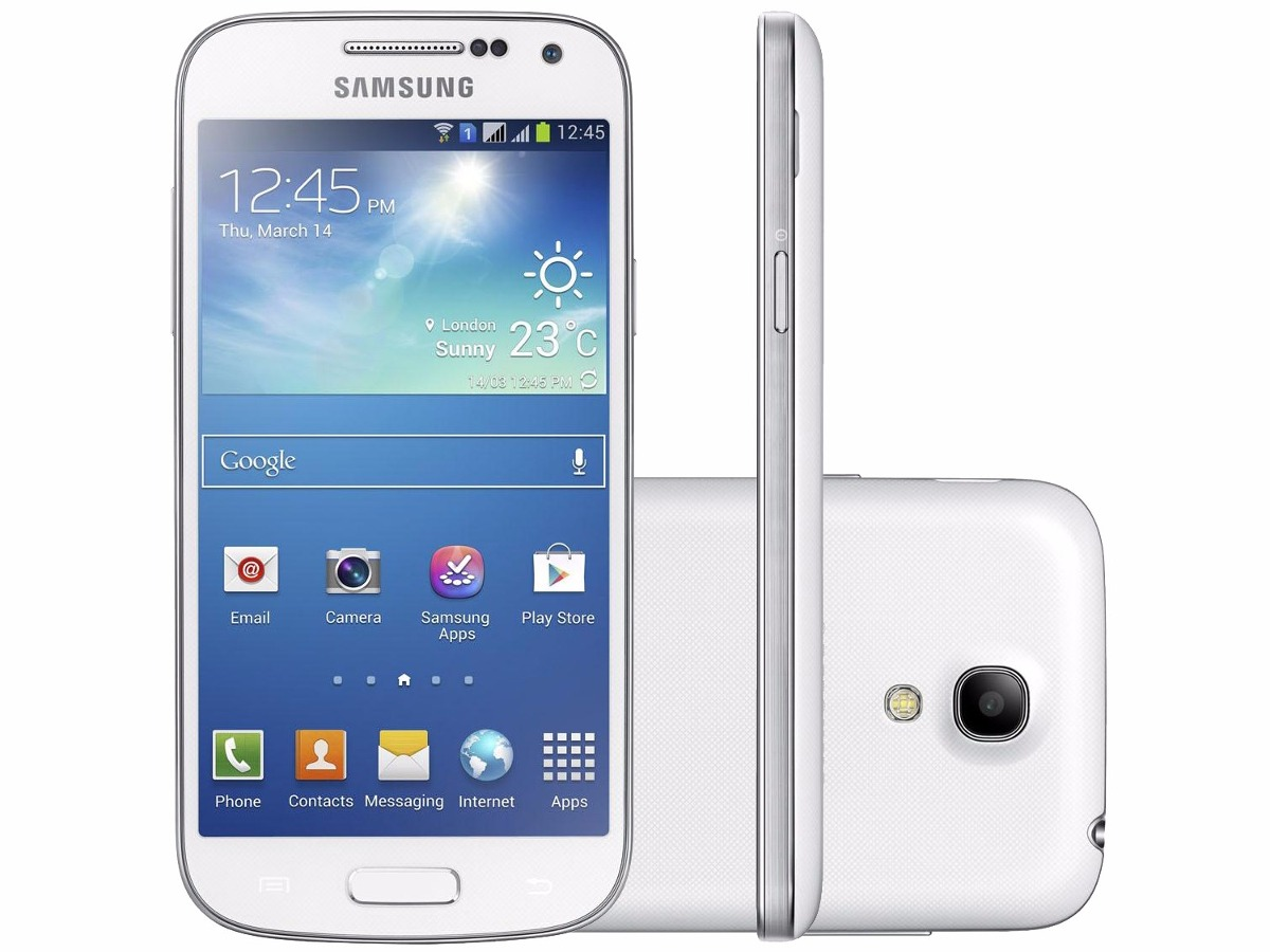 Celular Samsung Galaxy S4: Samsung Galaxy S4 Mini Dual Chip