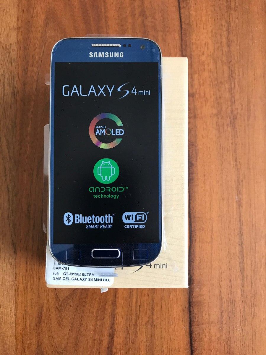 d8de0d457a7 Samsung Galaxy S4 Mini Gt-i9190 Azul Nuevo Original - $ 2,850.00 en ...