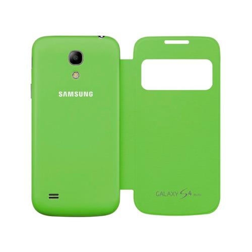 03266c6b23f Samsung Galaxy S4 Mini I9190 Flip Cover S View Verde - $ 139.86 en ...