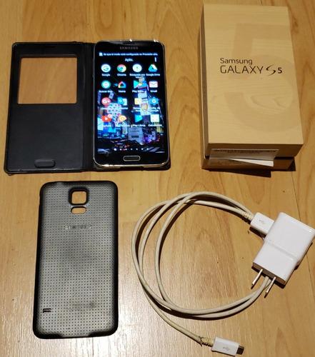 samsung galaxy s5 16gb desbloqueado y smart case samsung