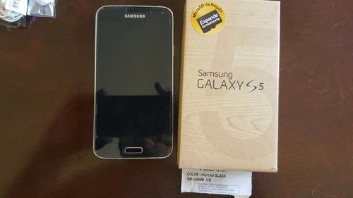 samsung galaxy s5 4g negro completo