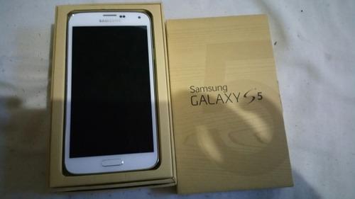 samsung galaxy s5 blanco nuevo internacional