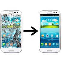 Cambio Glass Samsung Galaxy S5 Instalacion Incluida Gel Uv