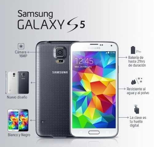 samsung galaxy s5 de exhibicion + regalo