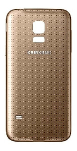 samsung galaxy s5 mini tapa trasera color dorado