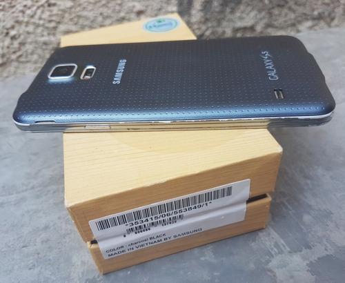 samsung galaxy s5 sm-g900h 16gb black desbloqueado original