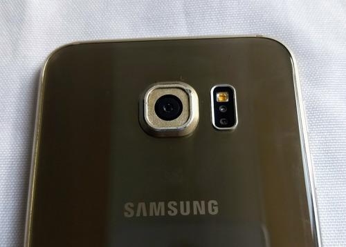samsung galaxy s6, color dorado, liberado estetica de 9