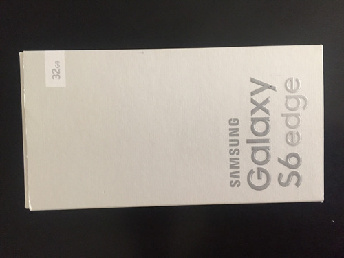 samsung galaxy s6 edge 32 gb  color blanco perla