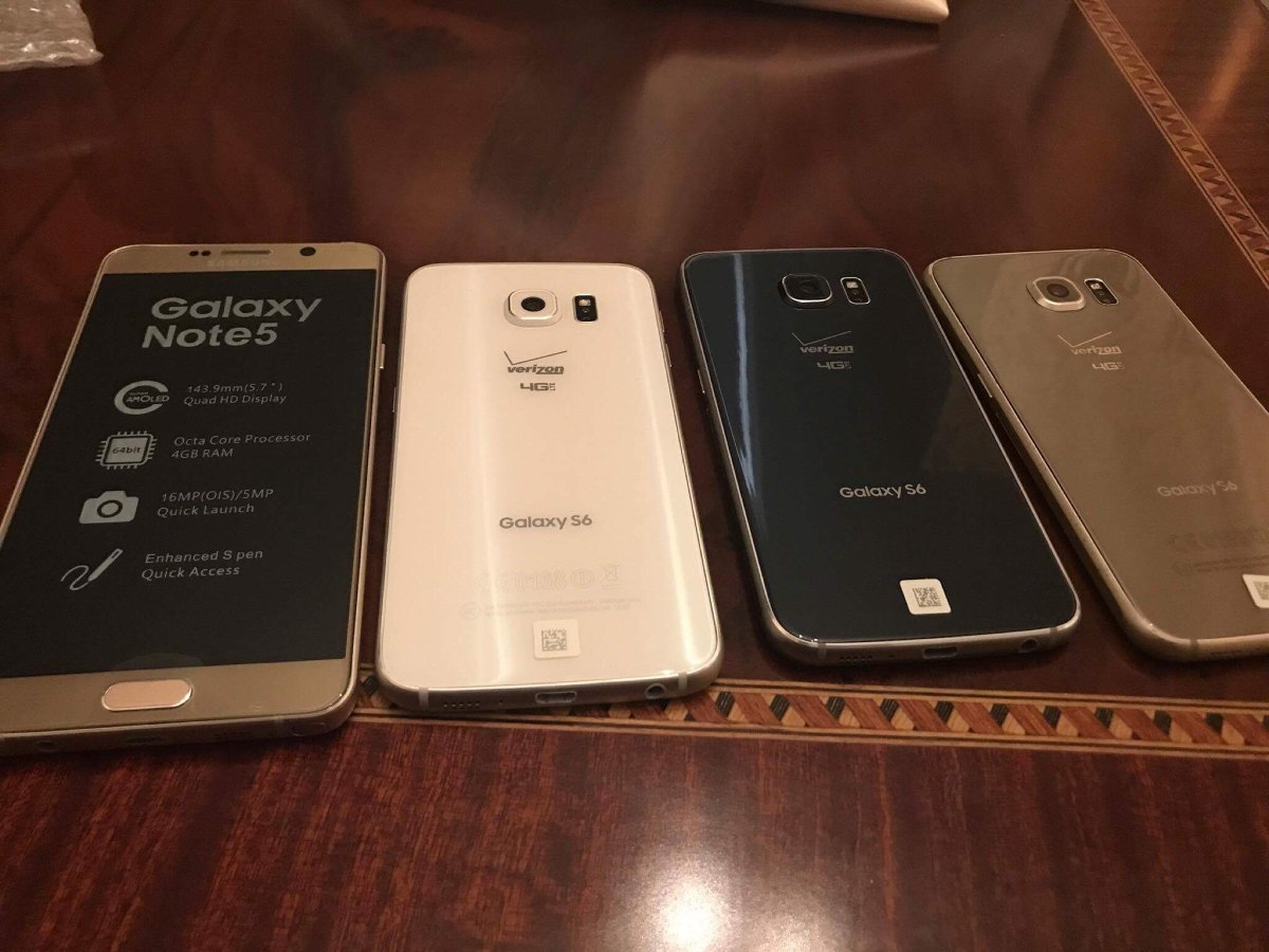Samsung Galaxy S6 Flat 32gb 3gb Ram Nuevo Libre Azul
