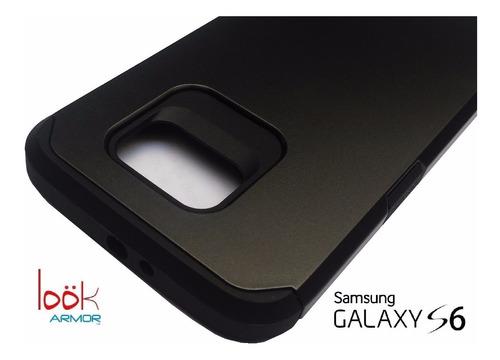samsung galaxy s6 funda case protector antigolpes look armor