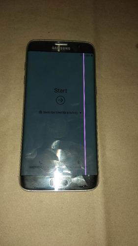 samsung galaxy s7 edge 32 gb, con linea rosa