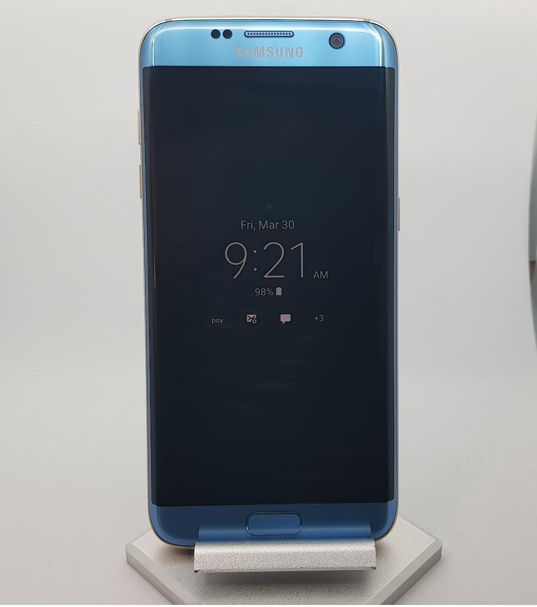 Samsung Galaxy S7 Edge 32gb Coral Blue De Exhibicion 680000 En 32 Gb Smartphone Cargando Zoom