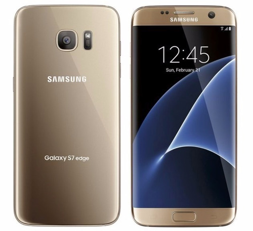 samsung galaxy s7 edge 32gb dorado en caja original