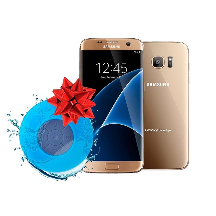 cea48f8d8fb samsung galaxy s7 edge 32gb gold grado a caja sellada bocina. Cargando zoom.