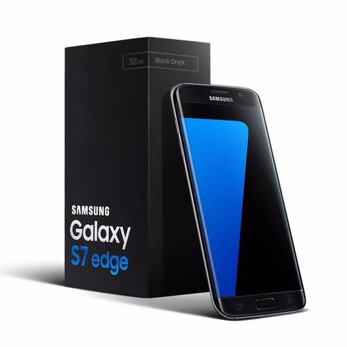 samsung galaxy s7 edge 4g 5.5' 4gb 32gb 12mp envio templado