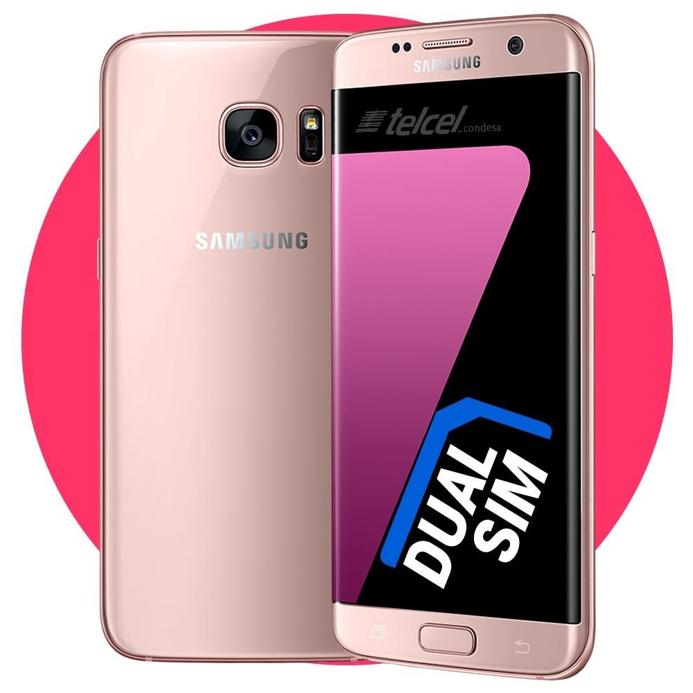 samsung galaxy s7 edge 4g dual sim 4g pink gold rosa. Black Bedroom Furniture Sets. Home Design Ideas