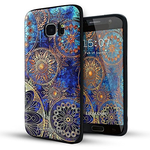 samsung galaxy s7 edge caso, lizimandu tpu patrón caso para