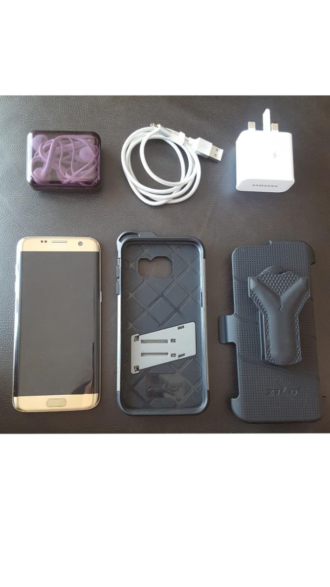 factory price 948d8 cac8a Samsung Galaxy S7 Edge Duos Perfecto Estado+ Funda Zizo Bolt