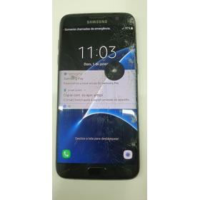 Samsung Galaxy S7 Edge Duos Sm-g935fd - Tela Danificada