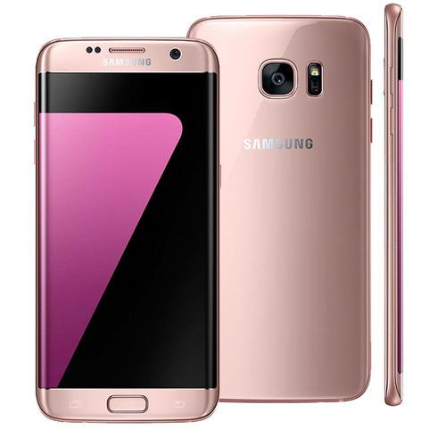 samsung galaxy s7 edge rose 32gb- android 6.0 4g camera 12mp