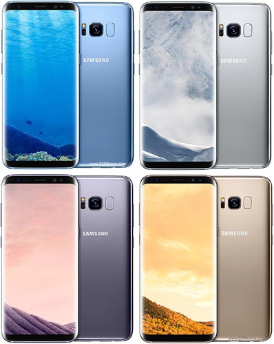 samsung galaxy s8 4g 64gb 5.8' g950f color orchid gray gris
