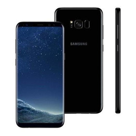 Samsung Galaxy S8 64gb Dual Sim 4g - Preto - Tela 5.8  Novo
