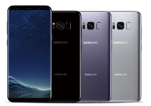 samsung galaxy s8 64gb nuevo sellado 4g libre 12mp 4gb ram!!