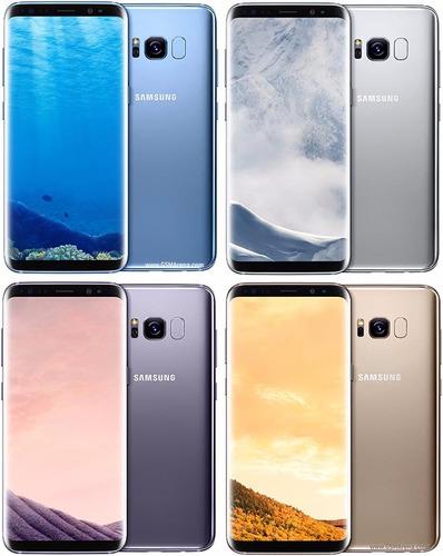 samsung galaxy s8 64gb sm-g950f  3d pantalla 5.8'