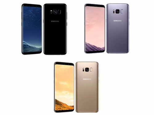 samsung galaxy s8 plus 64gb + carg. inalámbrico / iprotech