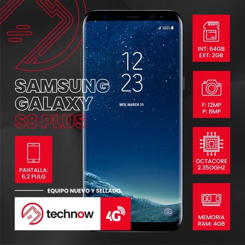 samsung galaxy s8 plus 64gb ram 4gb libre de fabrica - negro