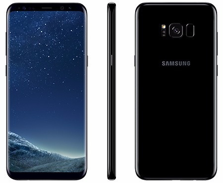 samsung galaxy s8 plus l/fábrica 64gb 4gb 12mp 8mp iris sel