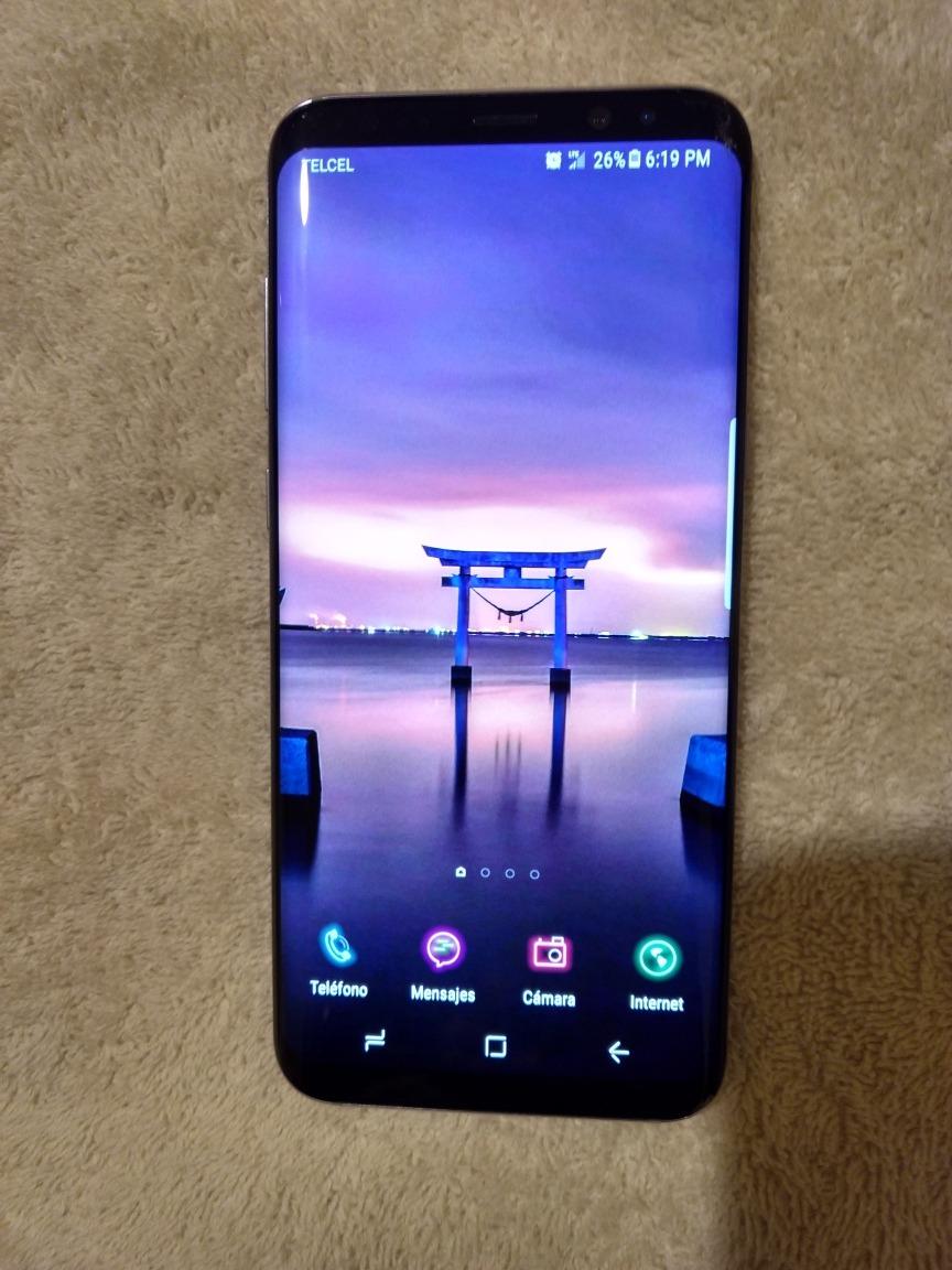 Samsung Galaxy S8 Plus. Negro, 64 Gb, Detalle En Pantalla