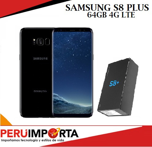 samsung galaxy s8+ plus nuevo c/ accesorios garantia