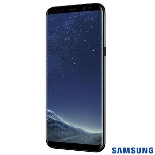 samsung galaxy s8 plus preto tela 6,2 4g 64gb 12 mp sm-g955