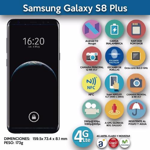 samsung galaxy s8 plus + smartwatch d9